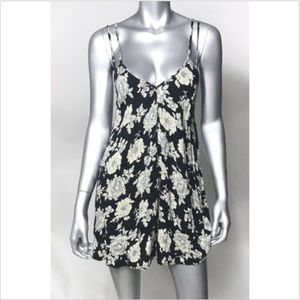Brandy Melville Dress Spaghetti Strap Floral Short